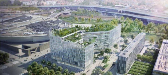 Lille : coup d'envoi des travaux de Biotope, futur siège de la MEL